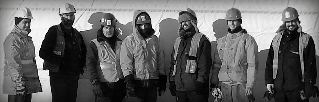 The demora Construction crew